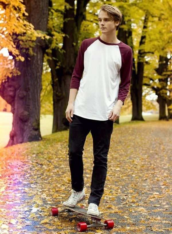 50 Unique Skater Boy Hair Styles Outfits And Looks | Pinterest | Guy Outfits Teen Boy Fashion ...
