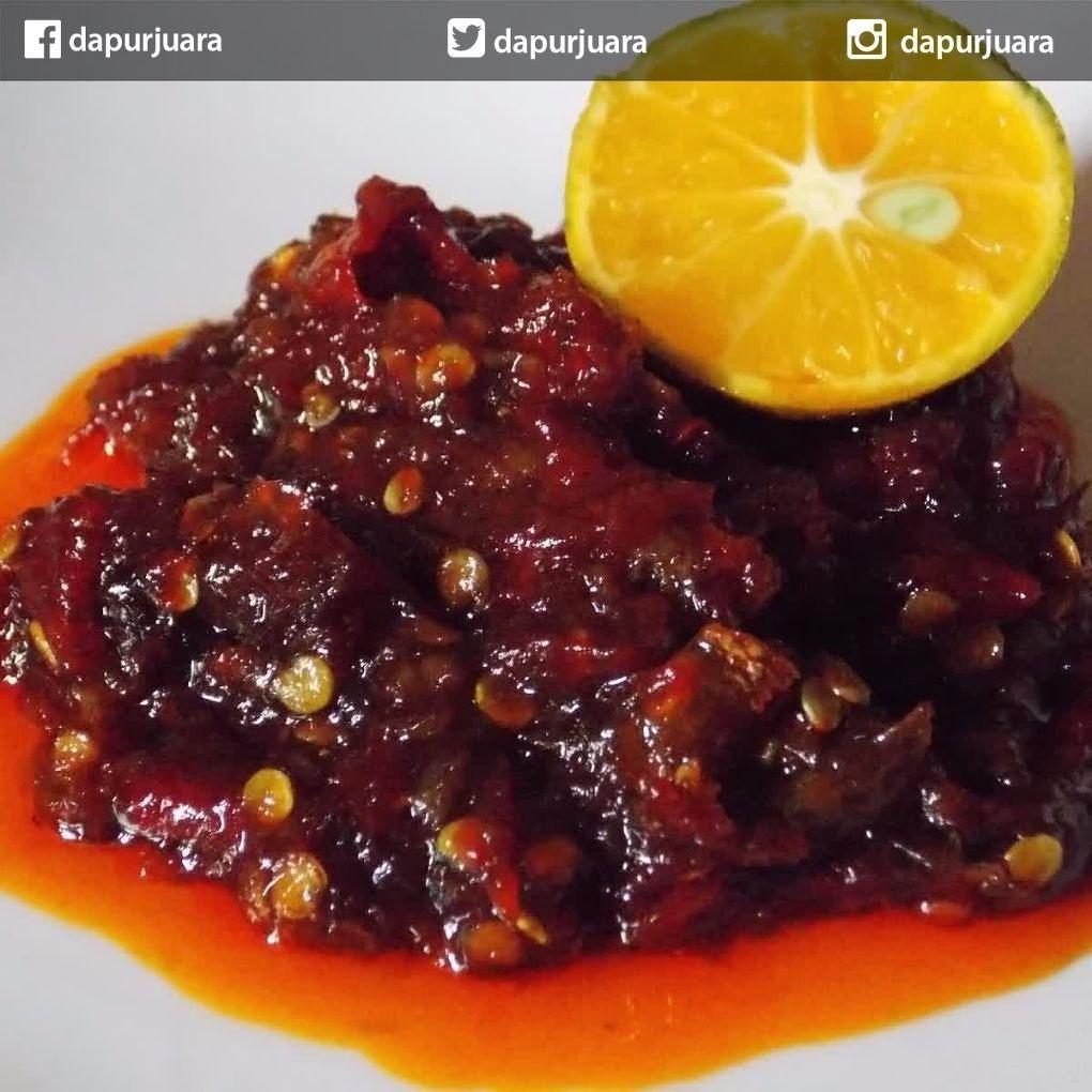 Dapur Juara On Instagram Sambal Kluwek Bahan 2 Buah Kluwak Tua Mentah Cabai Rawit Sesuai Selera Setengah Siung Bawan Resep Resep Masakan Cabai Rawit