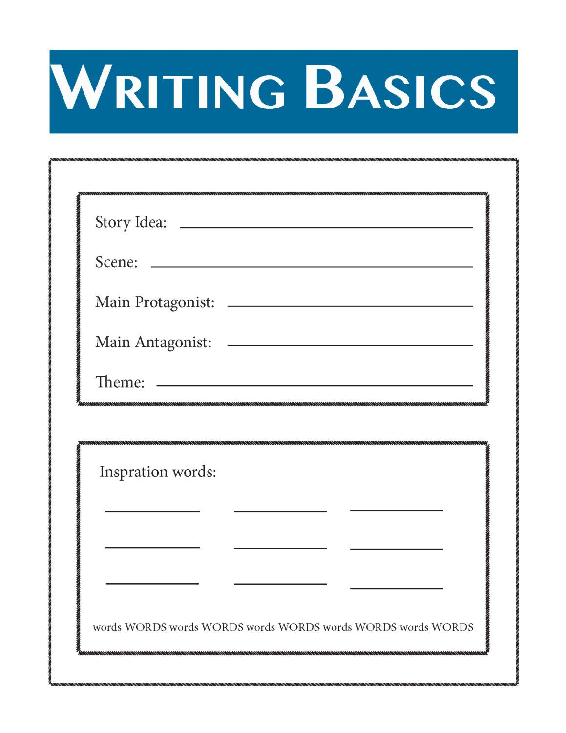 Writing Your Novel Writing Basics By Proseplanner On Etsy