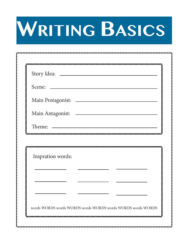 Writing Your Novel Writing Basics By Proseplanner On Etsy