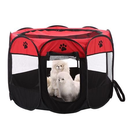 8-side Foldable Pet tent Dog Cage House Dog Playpen Kennel Easy Operation | Products | Pinterest | Dog playpen Playpen and Tents  sc 1 st  Pinterest & 8-side Foldable Pet tent Dog Cage House Dog Playpen Kennel Easy ...