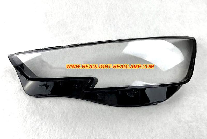 2015 2017 Audi A4 B9 Original Factory Oem Headlight Lens Cover Plastic Lenses Glasses Have Problems Like Been Yellowish Headlight Lens Led Headlights Audi A4