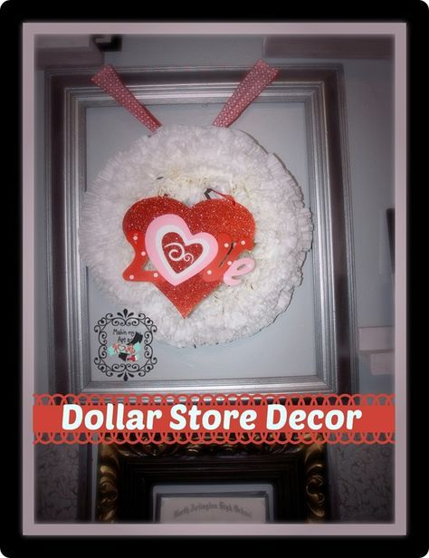 Coffee Filter Wreath Diy Dollar Stores