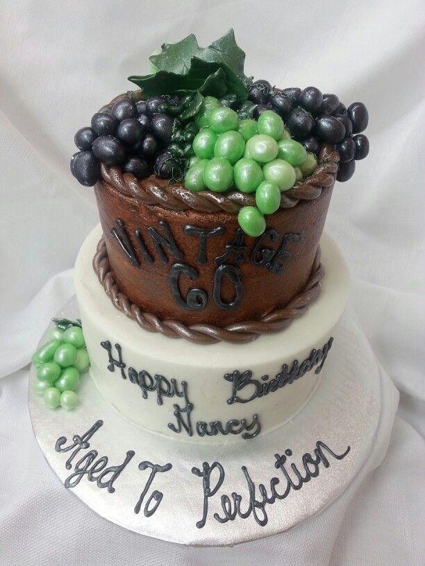 Vintage wine cake