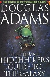 """The Hitchhiker's Guide to the Galaxy  The Hitchhiker's Guide to the Galaxy merges traditional science fiction with a comedic story and crazy characters and scenarios. This modern science-fiction novel by Douglas Adams is a must-read for anyone who considers themself a geek.    This geek book recommendation is featured in contributor Nicole Bremer Nash's TechRepublic article """"A required reading list for geeks."""""""