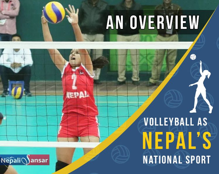 Volleyball As Nepal S National Sport An Overview Nepal Sports National Sport Sports Volleyball
