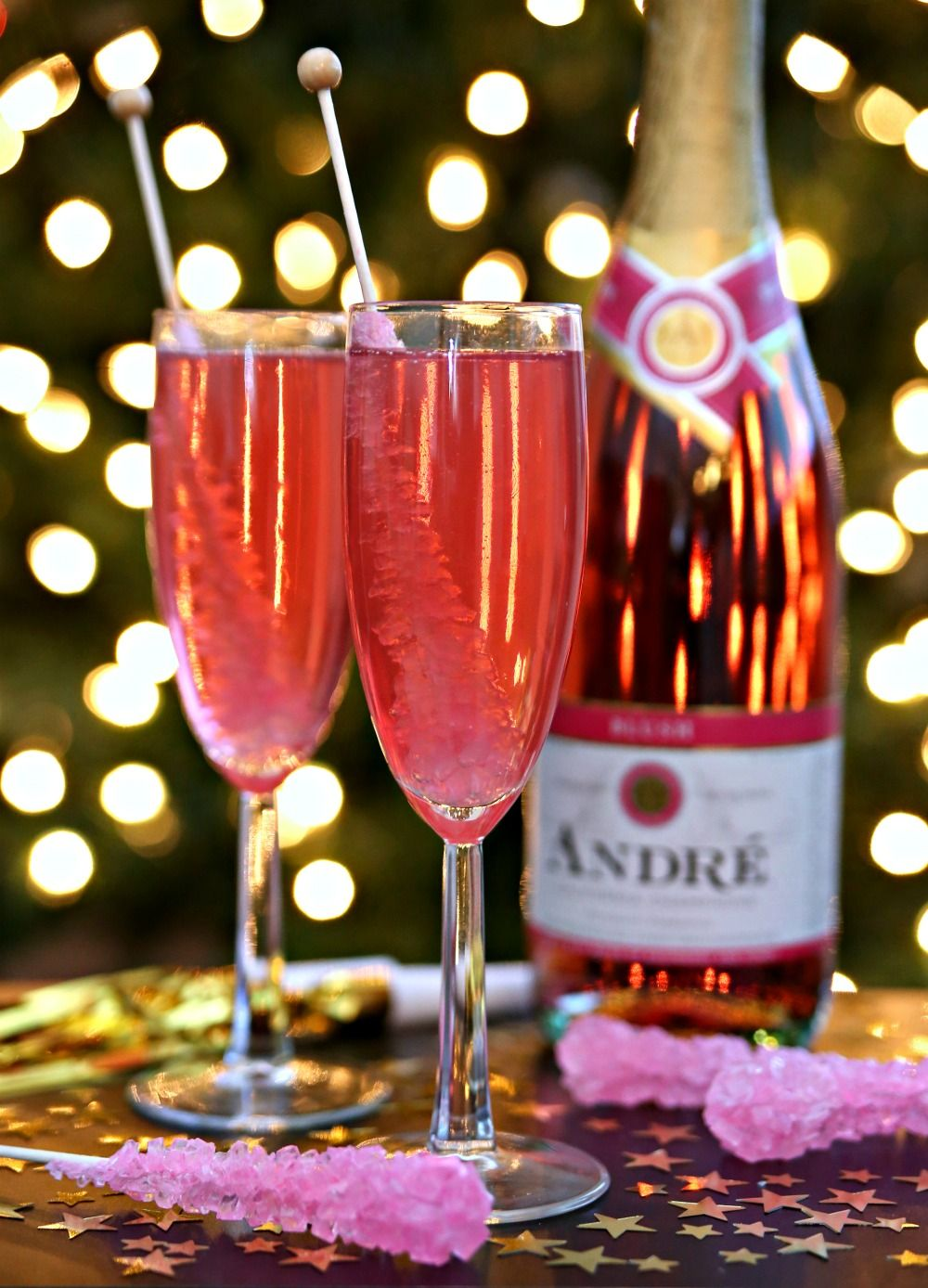 Ring In The New Year With Rock Candy Champagne Candy Cocktails Champagne Drinks Rock Candy