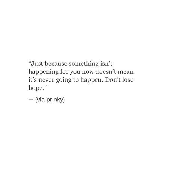 Donu0027t Lose Hope