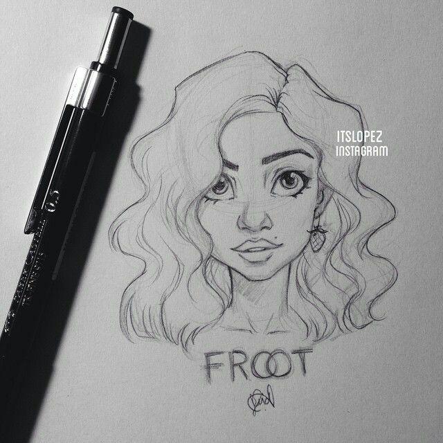 Itslopez instagram dessin dessin cheuveux dessin fusain et dessin personnage - Jolie dessin a faire ...