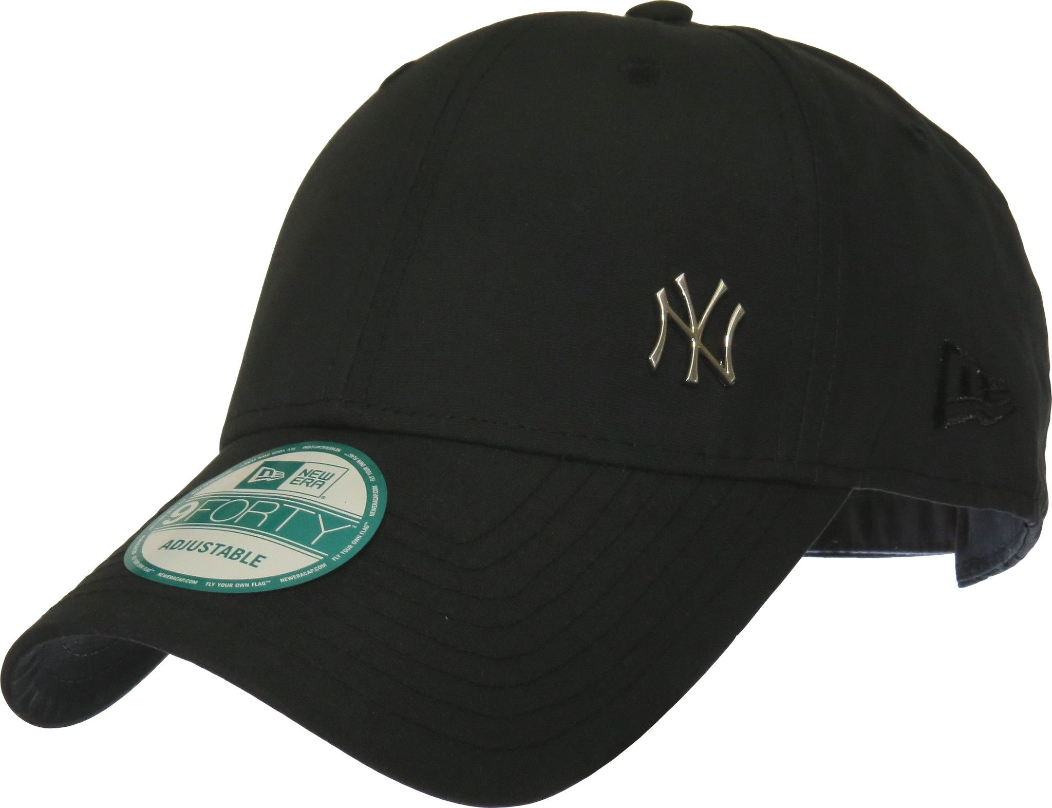 34d154d70a8 New Era 940 Flawless NY Black Baseball Cap in 2019