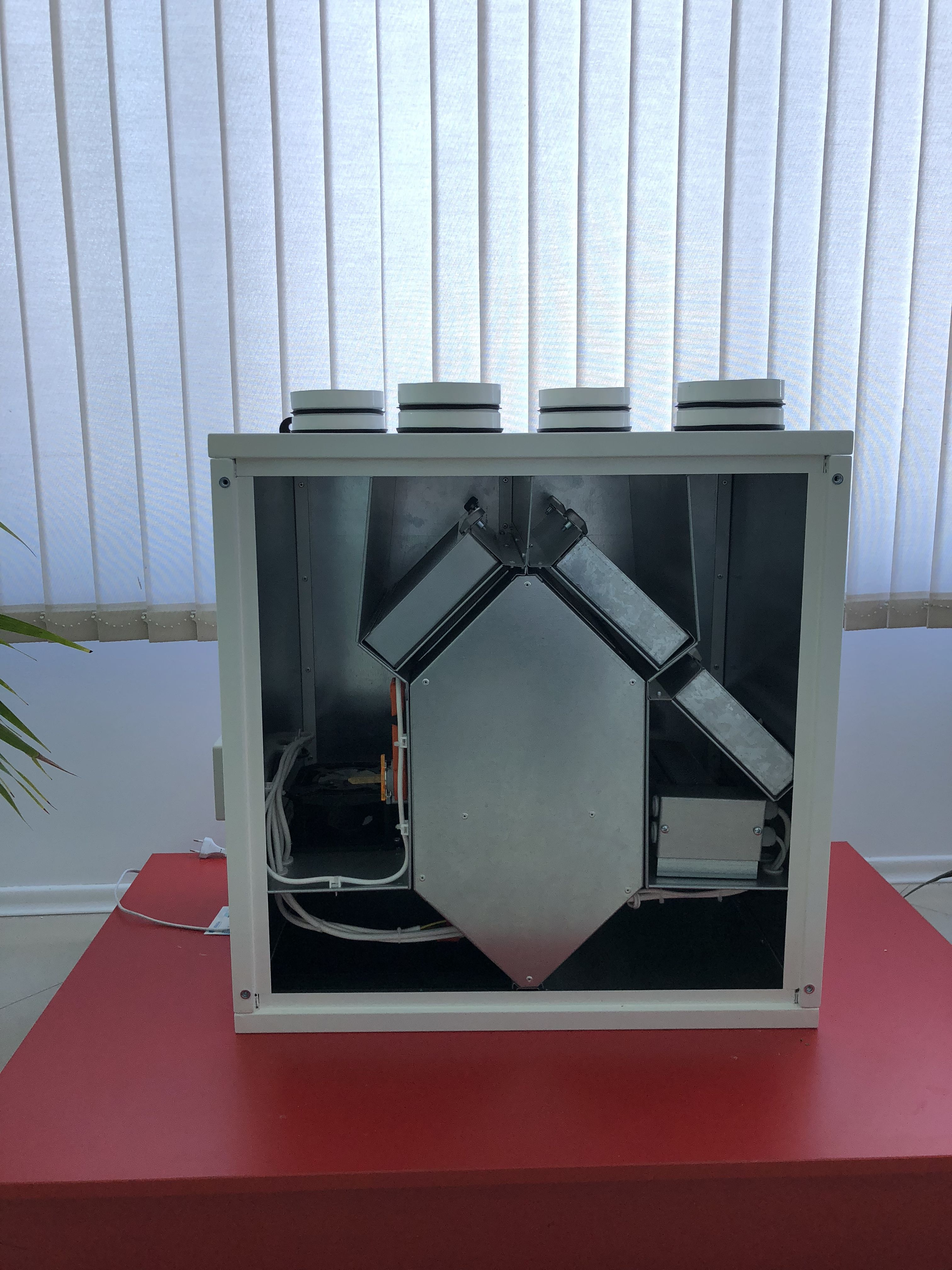 Domestic heat recovery units wit Eurovent certificate for