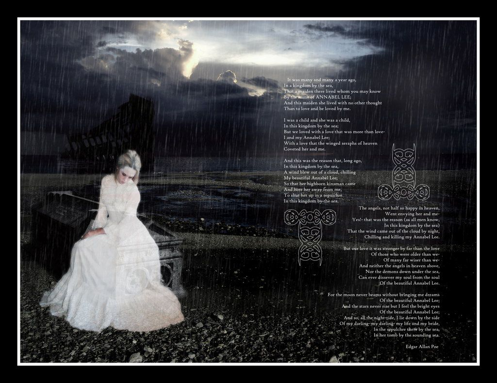 annabel lee edgar allen poe A gothic cabinet of curiosities and mysteries  annabel lee was the last completed poem by poe,  edgar allen poe,.