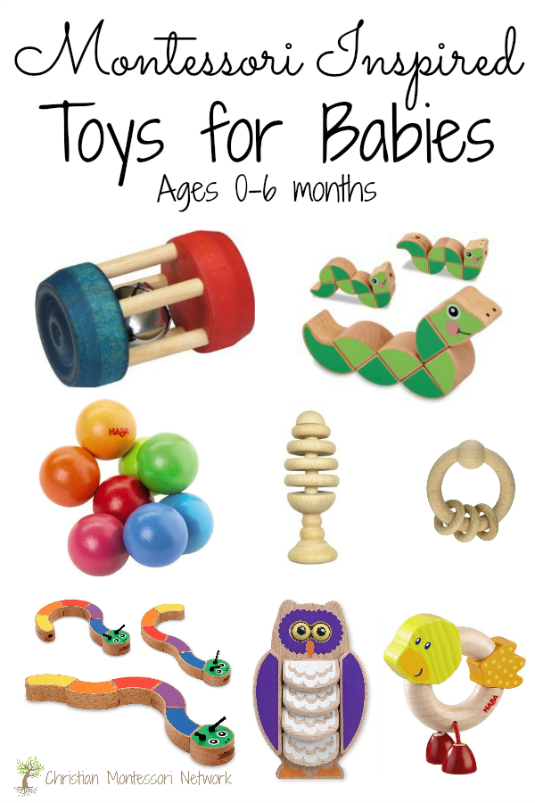 6 Month Old Baby Gifts For Christmas : Montessori inspired toys for babies ages months