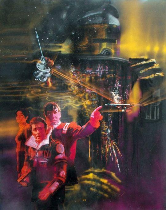 Star Trek II: Wrath of Khan unused poster by Bob Peak