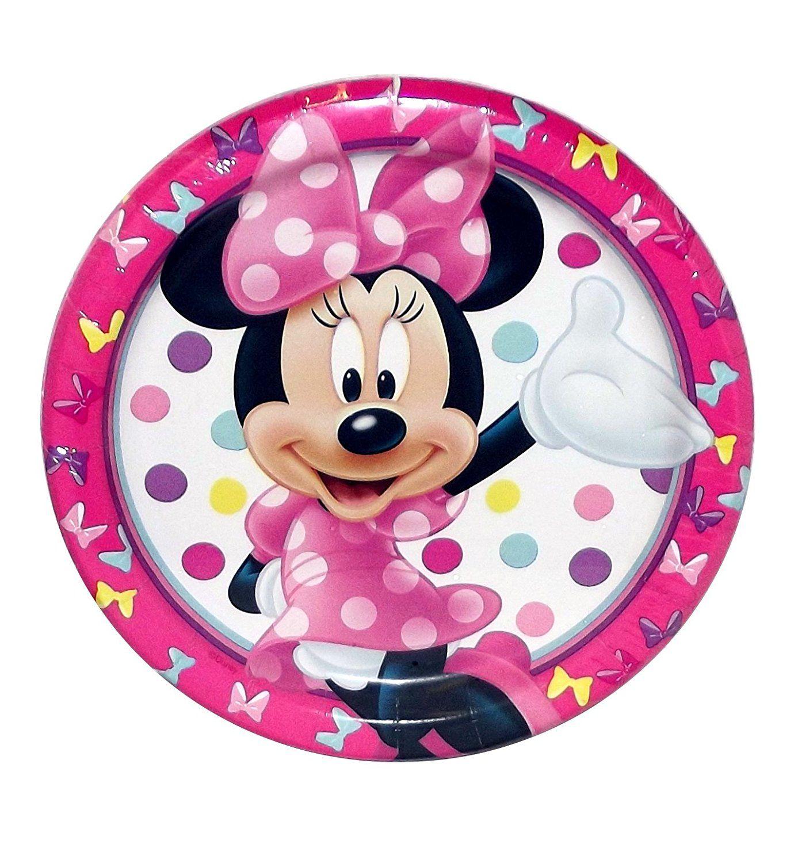 Minnie Mouse Dessert Plates 8ct Plates - Amazon Canada  sc 1 st  Pinterest & Minnie Mouse Dessert Plates 8ct Plates - Amazon Canada | Minnie ...