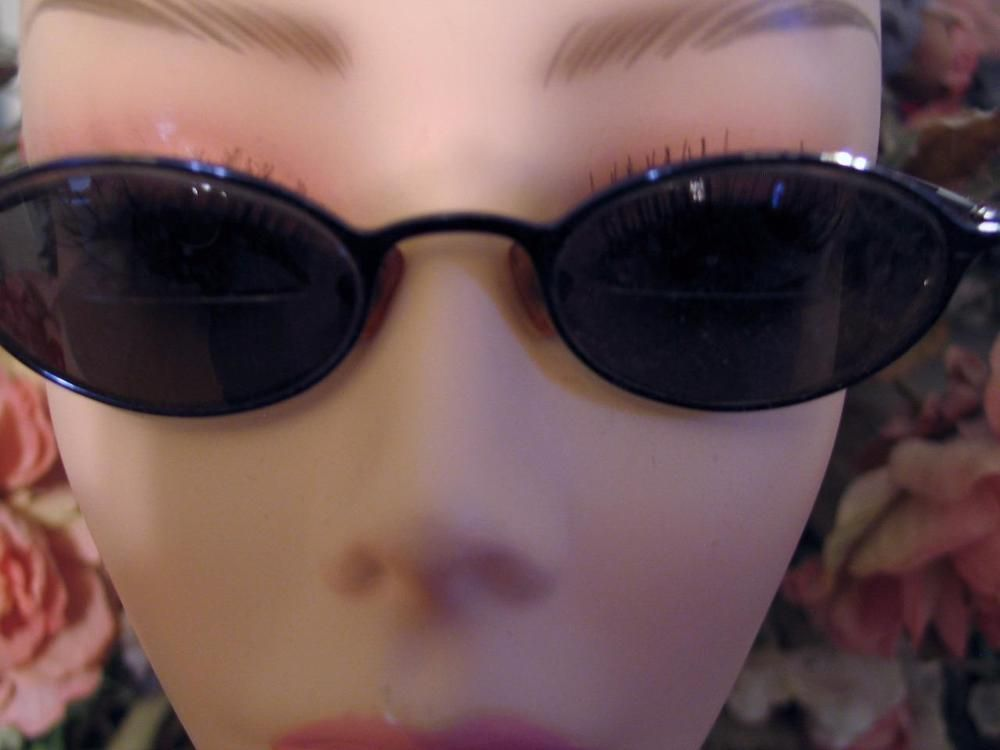 Ellen Tracy Eyeglass Frames Eyewear 46 19 130 BLUE Oval Rim Women\'s ...