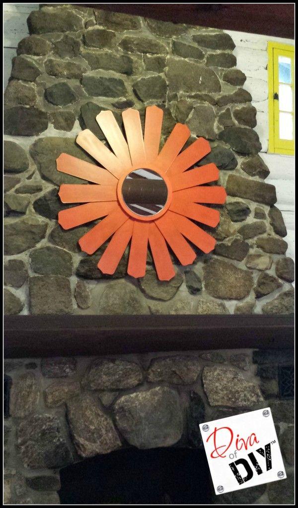 Restaurant Impossible Ceiling Fan Blades Diy Mirror