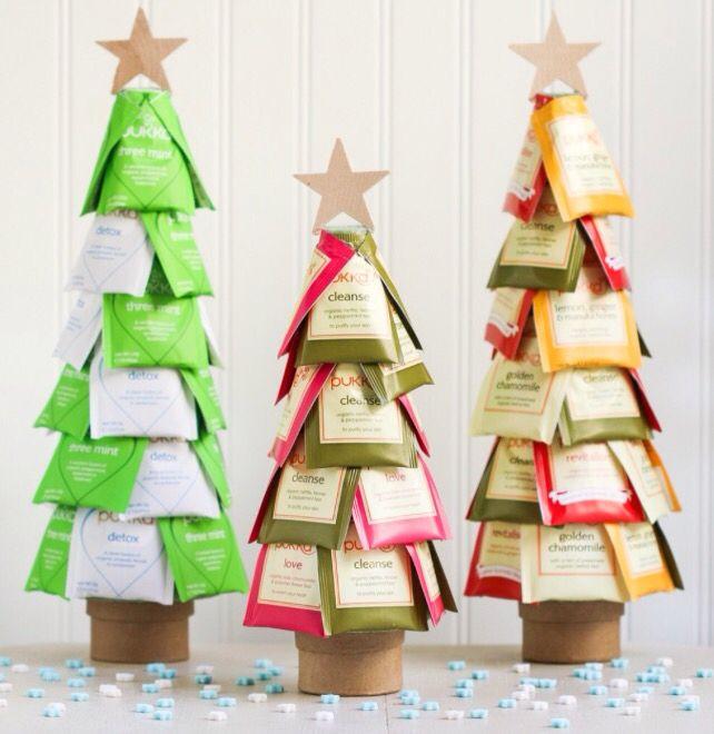 Teebaum Weihnachtsbasteln Pinterest Christmas tea, Teas and - 15 minuten k che