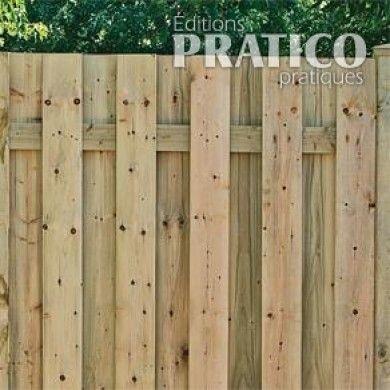 Comment construire une clôture 1 - Installer les poteaux - En étapes