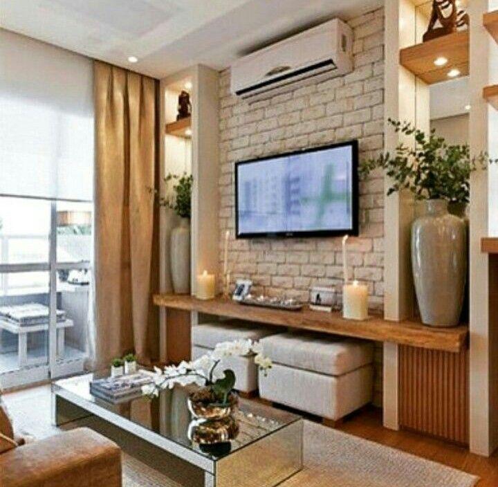 kuhle dekoration tv natursteinwand, pin by samara on sala in 2018 | pinterest | living rooms, room and, Innenarchitektur