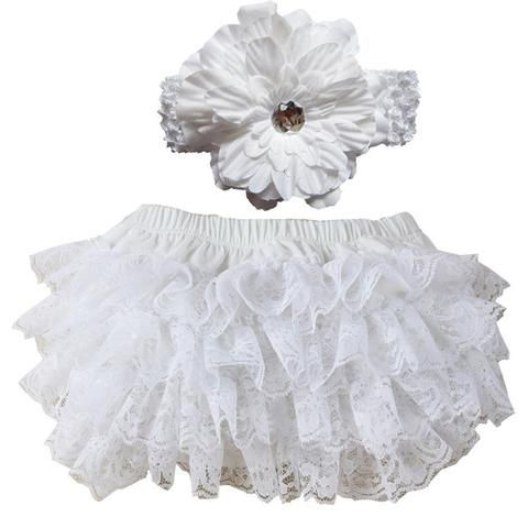 Wennikids Lace /& Cotton Diaper Covers Baby Bloomer in a Variety of Colors and Sizes