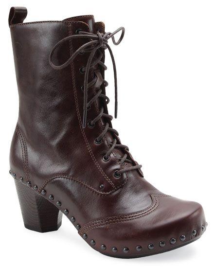 Vintage Black Dansko Combat boot