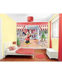 Buy Walltastic Disney Minnie Mouse Wall Mural at Argos.co.uk ...