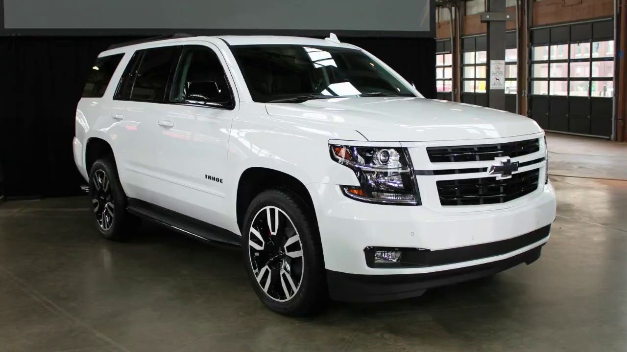 2019 Chevy Suburban Rst Performance Package At Long Last Includes
