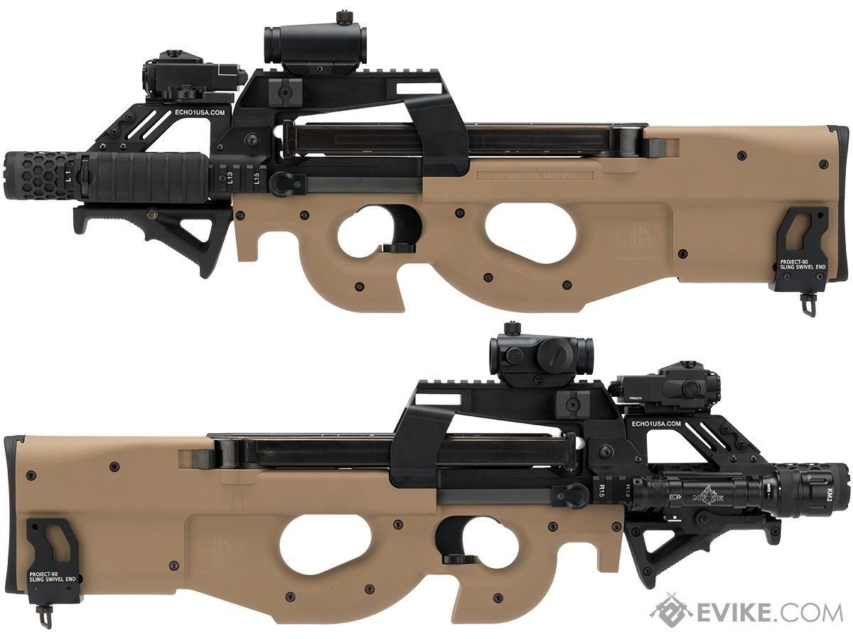 Evikecom Custom Shop Dominator Cybergun Fn Herstal P90 Gas