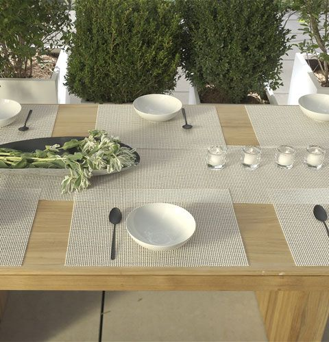 Chilewich Natural Neutrals Placemats And Runners Orange Home Decor Neutral Placemats Chilewich