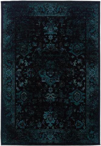 Dark teal blue and black worn overdyed rug rugs pinterest tapis maison et decoration for Moquette contemporaine