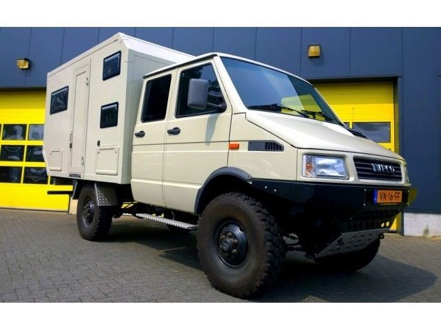 iveco daily 4x4 als wohnmobil andere in valkenburg. Black Bedroom Furniture Sets. Home Design Ideas