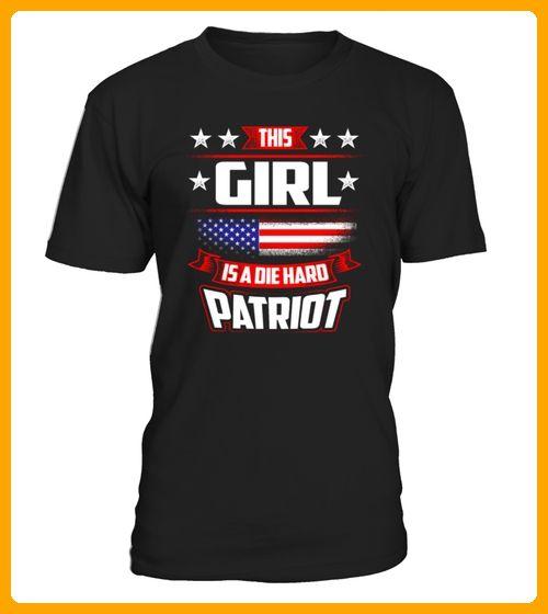4th Of July This Girl Die Hard Patriot Shirt Gift TShirts - Geburtstag shirts (*Partner-Link)