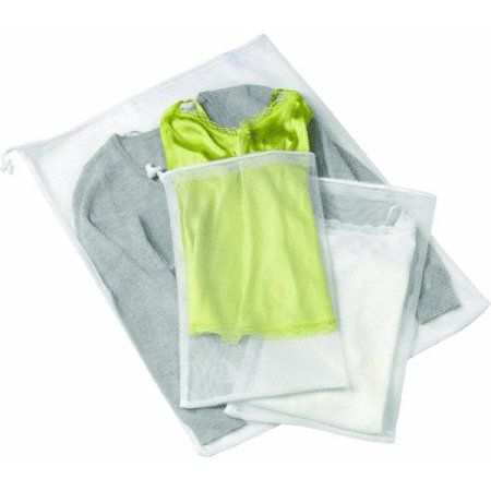Honey Can Do 3pc Mesh Wash Bag Lbg 01148 Mesh Laundry Bags