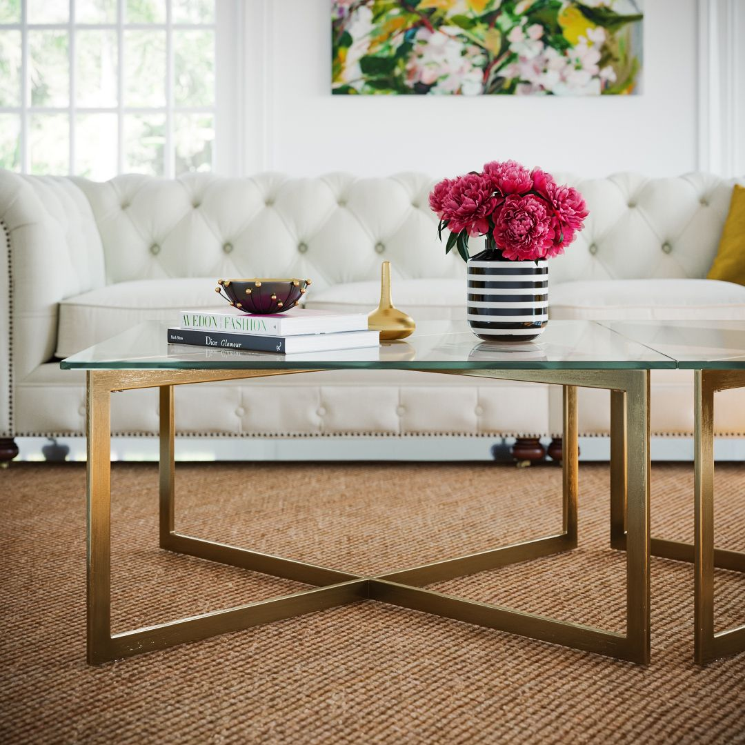 Kipling Glass Coffee Table Coffee Table Table Glass Top Coffee Table [ 1080 x 1080 Pixel ]