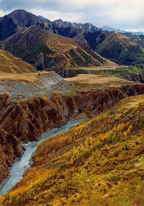 Skippers Canyon is juz outside Queenstown, Southland, South Island_ New Zealand