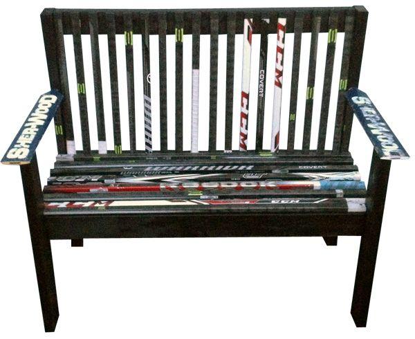 Beautiful Unique And Custom Hockey Stick Furniture   Kevin Sychowski: Custom Hockey  Stick Furniture, Decor