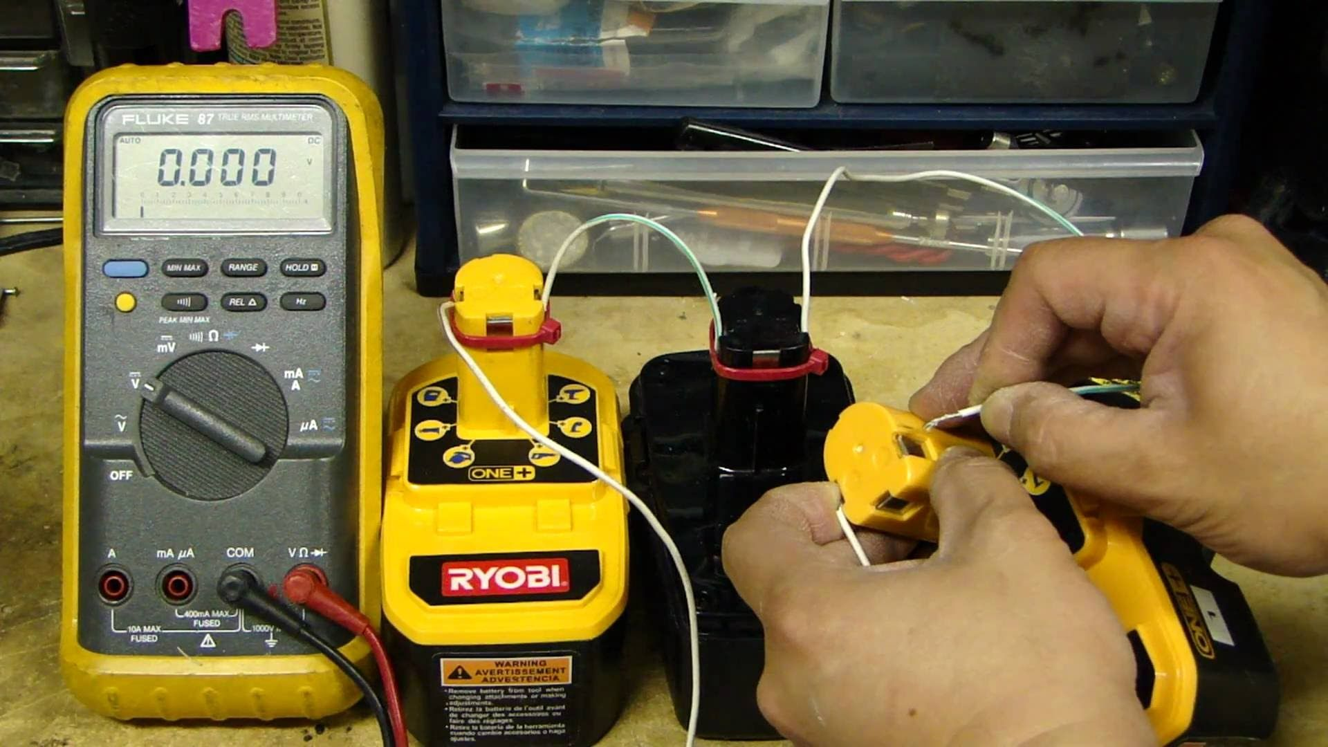 Ez Battery Reconditioning Method Green Life Zen Ryobi Battery Cordless Drill Ryobi