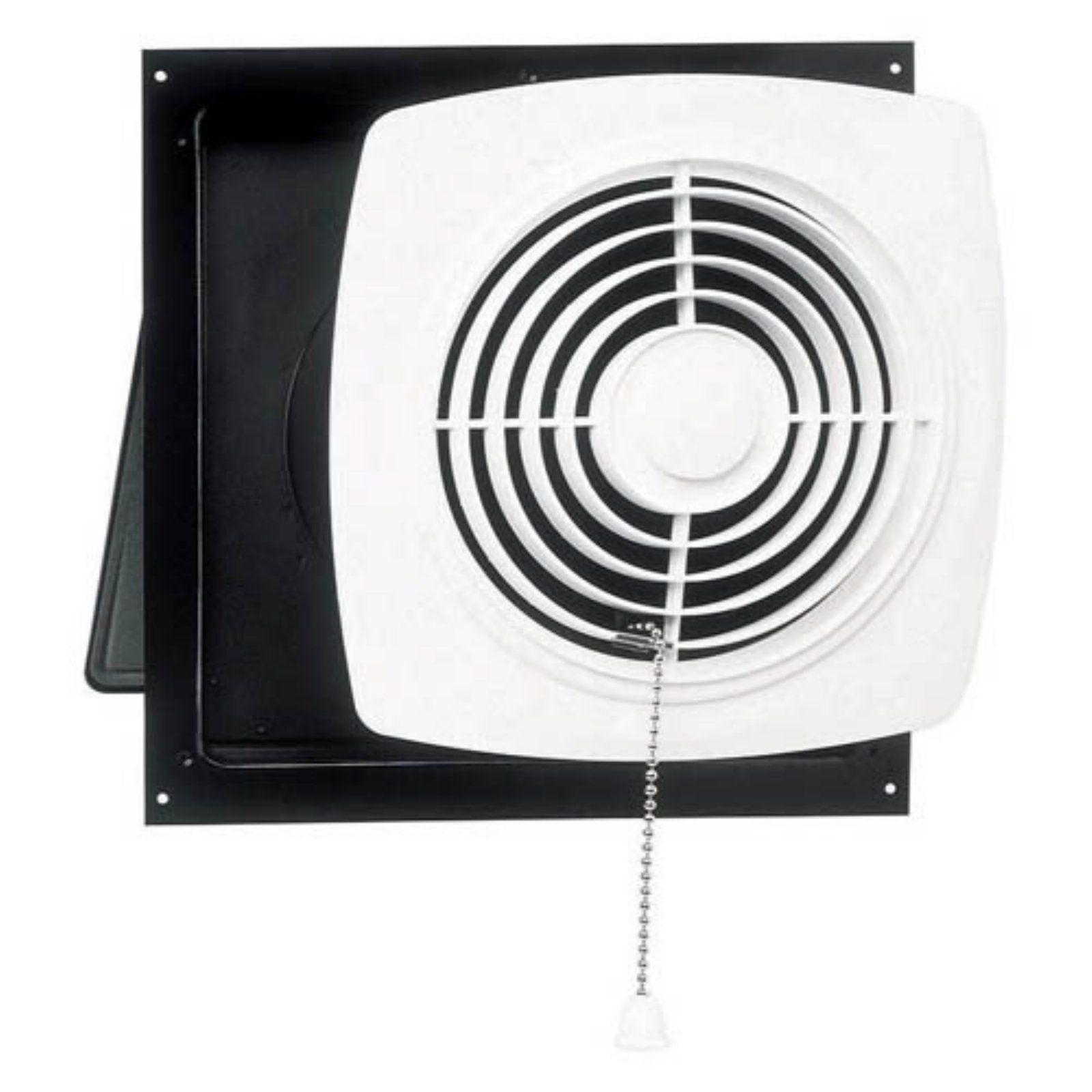 BroanNutone Through Wall Pull Chain Utility Ventilator in