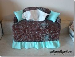 Couch Tissue Box Cover Covers Diy