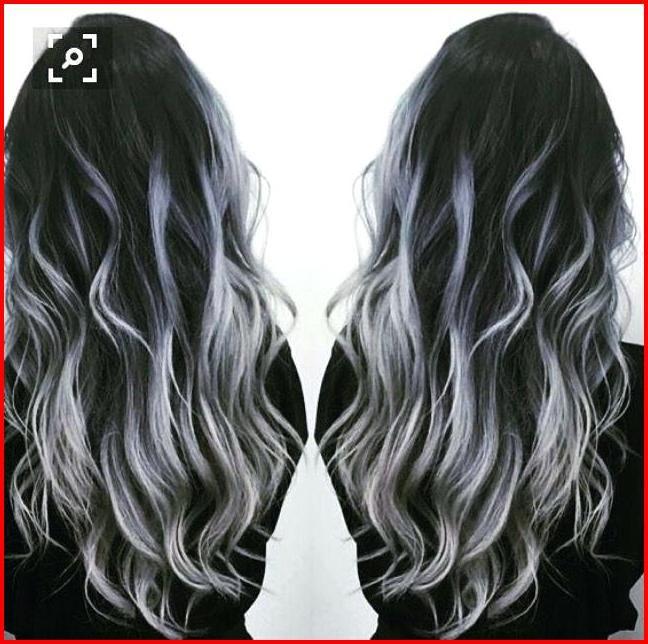 White And Black Hair Color Ideas Capelli Grigi Sfumati Capelli Grigi E Neri Capelli Colorati