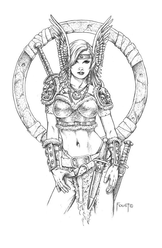 Halldora by *MitchFoust on deviantART | Art | Pinterest | deviantART ...