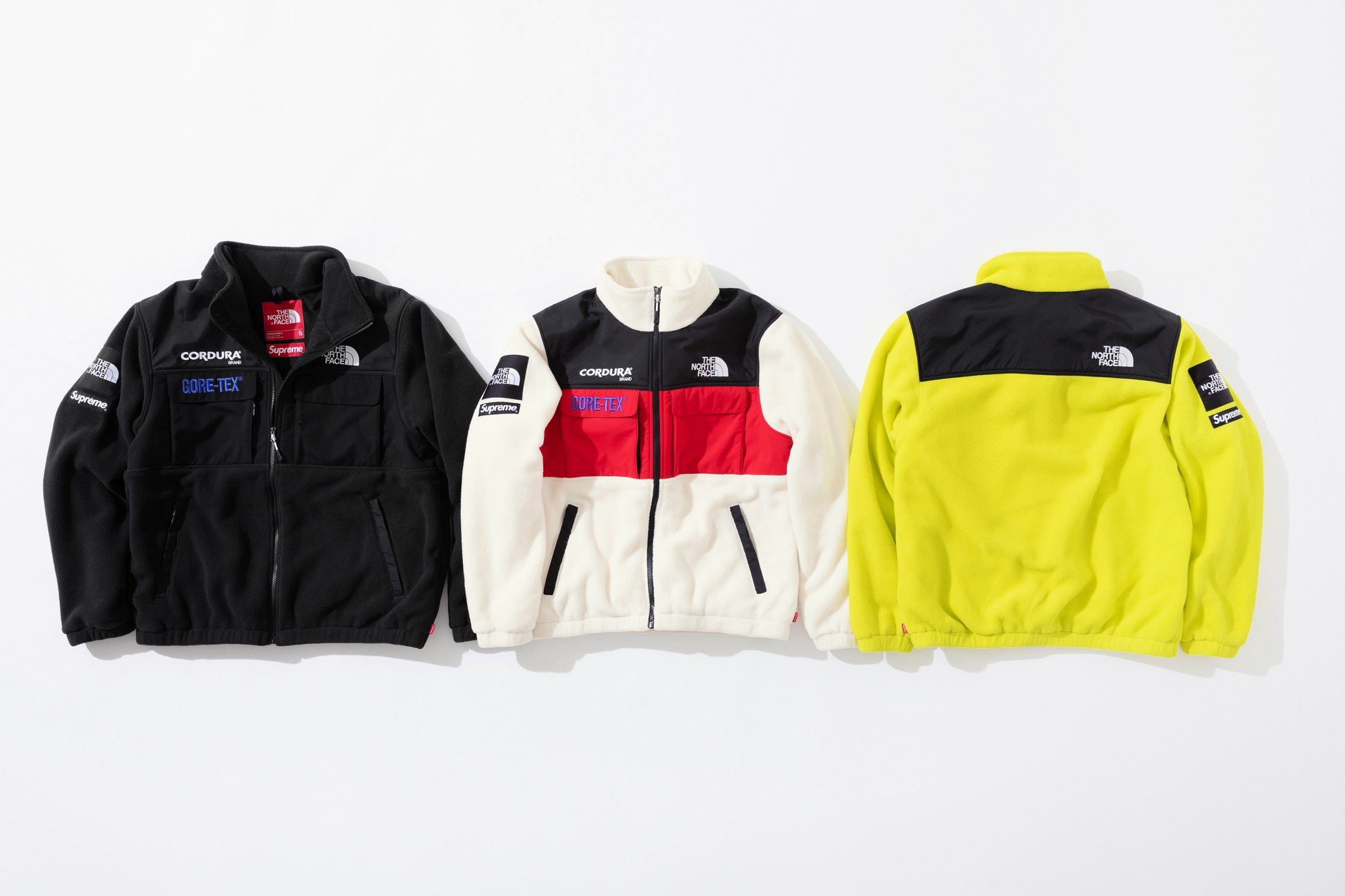 Supreme X The North Face Expedition Fleece Performance Outfit Outerwear Jackets Outdoor Jacket