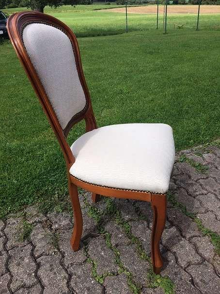 Esstisch mit Sessel, Essgruppe, runder Esstisch ausziehbar