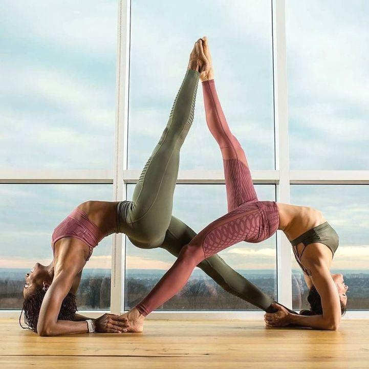 Yoga For Women Exercises Yoga Positionen Yoga Partner Yoga