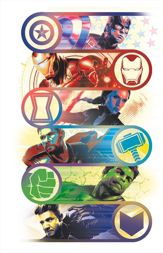 Se liberan ilustraciones oficiales de Avengers: Endgame con Captain Marvel, Ronin y más personajes