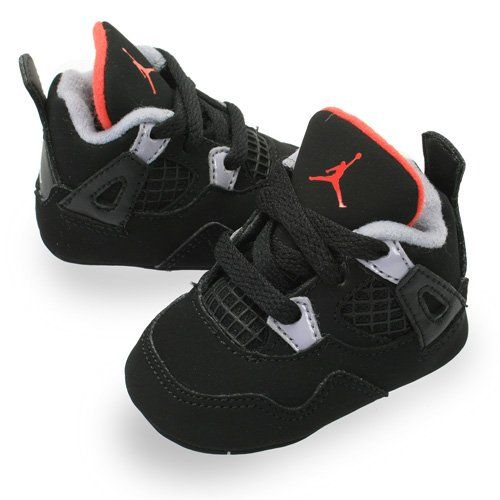 Amazon.com: JORDAN 4 RETRO Style# 487219 CRIB: Shoes