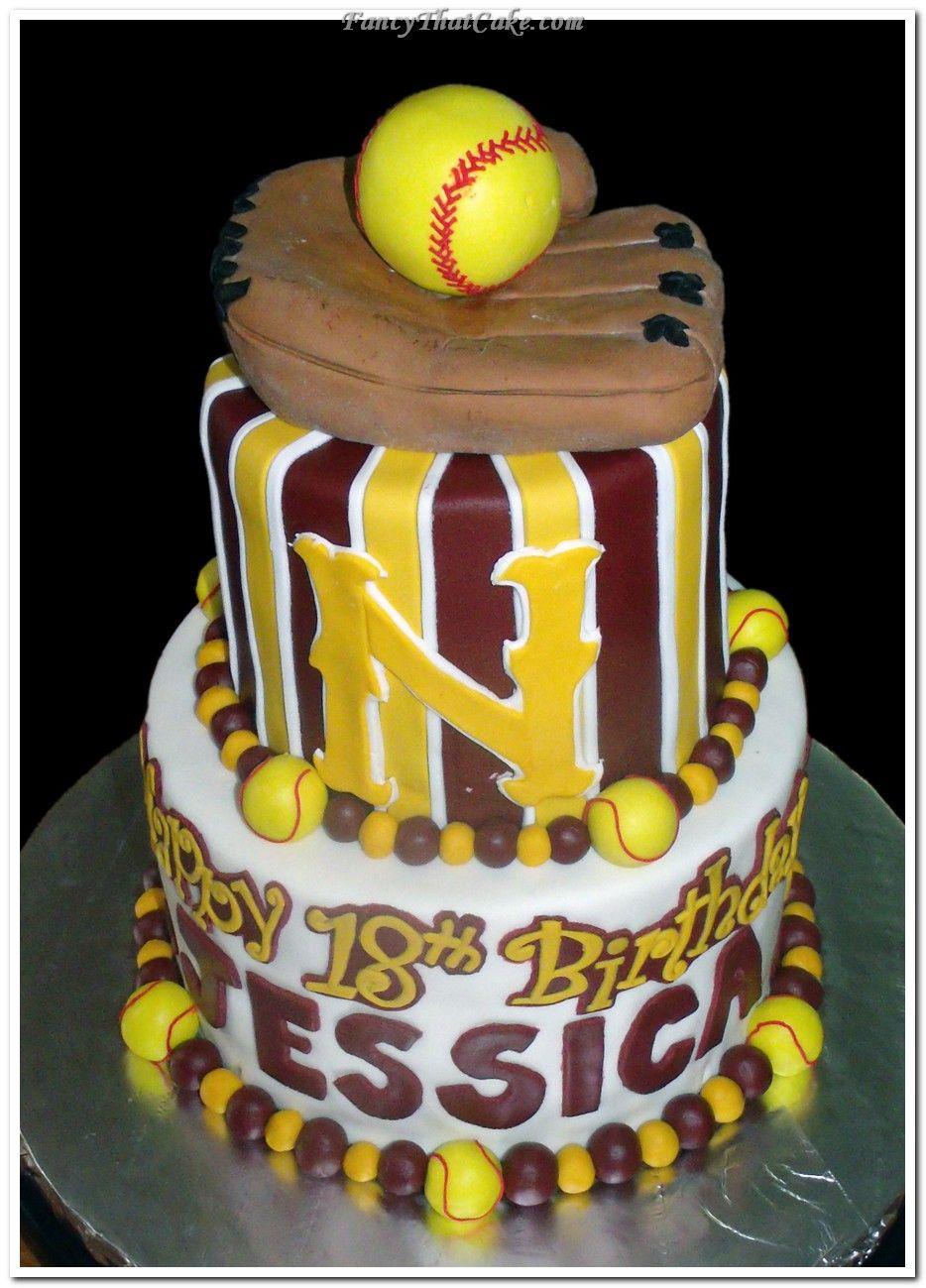 photos of everything girls softball   Softball_Birthday_Cake ...
