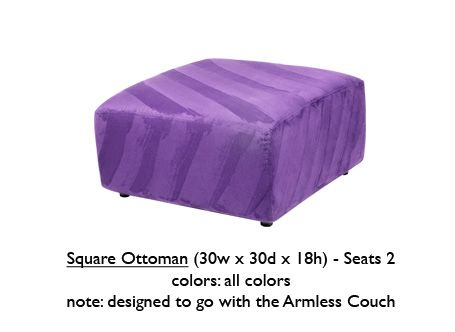 Stupendous Purple Square Ottoman Ottomans Square Ottoman Furniture Dailytribune Chair Design For Home Dailytribuneorg