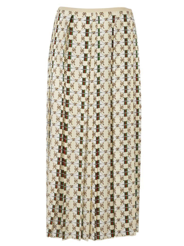 fdbf7455467 GUCCI Gucci Web Kisses Skirt.  gucci  cloth